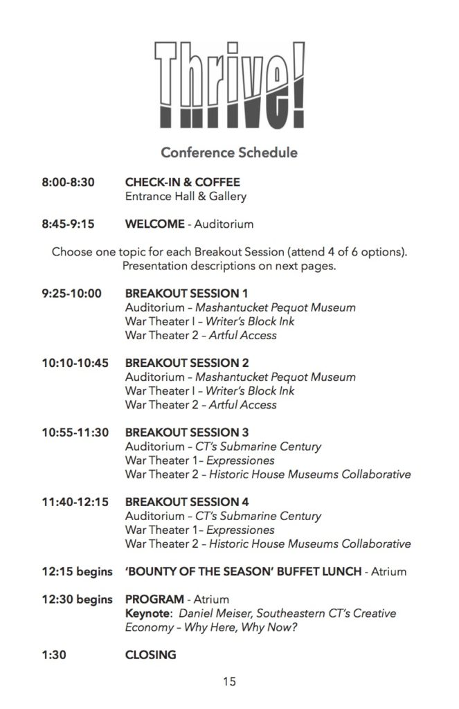thrive-conference-schedule
