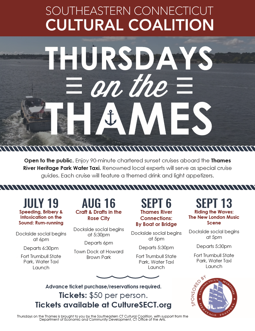 Thursdays On The Thames 2018 Southeastern Connecticut