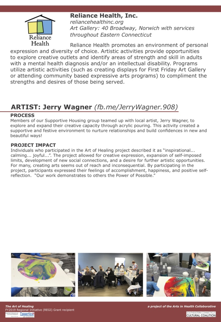 Art of Healing – Traveling Exhibit – Southeastern Connecticut